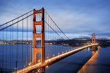 Famous Golden Gate Bridge in San Francisco Fotografie-Druck von  prochasson