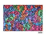 Untitled, 1985 (figures) Kunst van Keith Haring