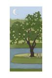 Cherry Tree, Summer, 2013 Impressão giclée por Megan Moore