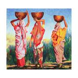 Three Women, 1993 Reproduction procédé giclée par Tilly Willis