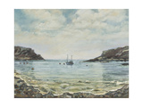 Lulworth Cove,1997 Giclee Print by Margaret Hartnett
