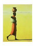 Woman Walking, 1990 Reproduction procédé giclée par Tilly Willis