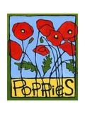 Poppies, 2004 Impressão giclée por Megan Moore
