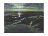 Sunset at Bracklesham Bay, 1997 Giclee Print by Margaret Hartnett
