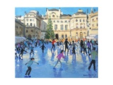 Christmas, Somerset House, 2013 Giclee Print by Andrew Macara