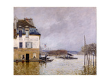 L'inondation à Port Marly Giclee Print by Alfred Sisley