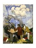 La Conquête de l'air Giclee-trykk av Roger de La Fresnaye