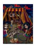 Fairy Circus Lámina fotográfica por Jasmine Becket-Griffith