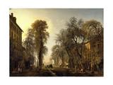 Le boulevard Poissonnière Reproduction procédé giclée par Isidore Dagnan