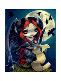 Once Upon a Midnight Dreary Affiches par Jasmine Becket-Griffith