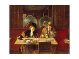 Au café, l'absinthe Giclee Print by Jean Béraud