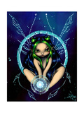 The Star Child Affiches par Jasmine Becket-Griffith