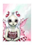 Peppermint Pretty Poster par Jasmine Becket-Griffith