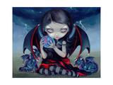 Dark Dragonling Affiches par Jasmine Becket-Griffith