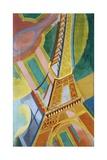 Tour Eiffel Reproduction procédé giclée par Robert Delaunay