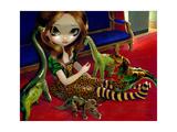 Dinosaur Friends III Affiches par Jasmine Becket-Griffith
