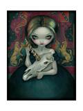 Unicorns Ghost Affiches par Jasmine Becket-Griffith