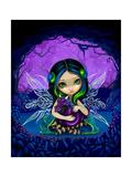 Dragonling Garden II Affiches par Jasmine Becket-Griffith