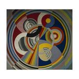 Rythme numéro 1 Giclee-trykk av Robert Delaunay