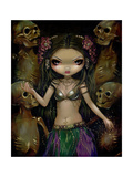 Danse Macabre : Tribal Fusion Poster by Jasmine Becket-Griffith