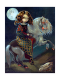 I Vampiri: Notte a Cavalla Affiches par Jasmine Becket-Griffith