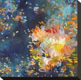 Beginnings Bedruckte aufgespannte Leinwand von Amy Donaldson