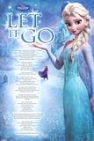 Frozen - Let it go Poster