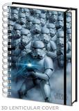 Star Wars - Stormtroopers 3d Lenticular A5 Notebook Journal intime & Carnet