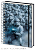 Star Wars - Stormtroopers 3d Lenticular A5 Notebook Journal