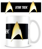 Star Trek - Insignia Black Mug Taza
