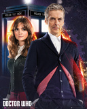 Doctor Who And Clara Poster