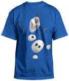 ティーンズサイズTシャツ:アナと雪の女王 - Split Up Tシャツ