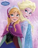 Frozen-Il regno di ghiaccio - sorelle Stampe