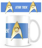Star Trek - Sciences Blue Mug Becher