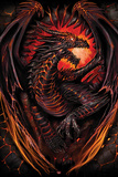 Spiral - Dragon Furnace Posters