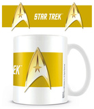 Star Trek - Command Gold Mug Krus
