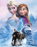Die Eiskönigin – Völlig unverfroren - Collage Poster