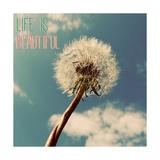 Leben ist schön, Das Giclée-Premiumdruck von Gail Peck