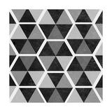 Gray Pattern II Premium Giclee Print