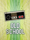 Nintendo NES Old School Video Game Poster Print Stampe