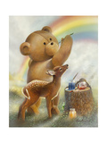 Over the Rainbow Premium Giclee Print by Ruane Manning