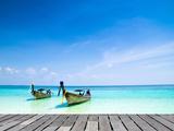 Tropical Beach, Andaman Sea, Thailand Fotografisk trykk av Vitaliy Pakhnyushchyy