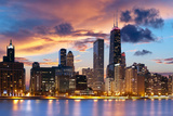 Chicago Skyline Fotografisk trykk av  rudi1976