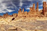 Rocks of Sahara Desert, Tassili N'ajjer, Algeria Fotografisk trykk av  DmitryP