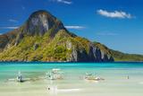 El Nido Bay and Cadlao Island, Palawan, Philippines Fotografisk trykk av  DmitryP