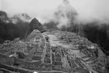 Machu Pichu Peru B/W Foto