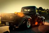 Custom Pickup at Sunset Foto