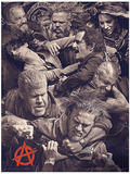 Sons of Anarchy - Fight Masterprint