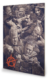 Sons of Anarchy - Fight Wood Sign