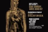 James Bond - Goldfinger 50th anniversary Póster